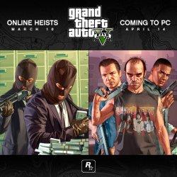 GTAV выход игры на PC перенесли на 14 апреля