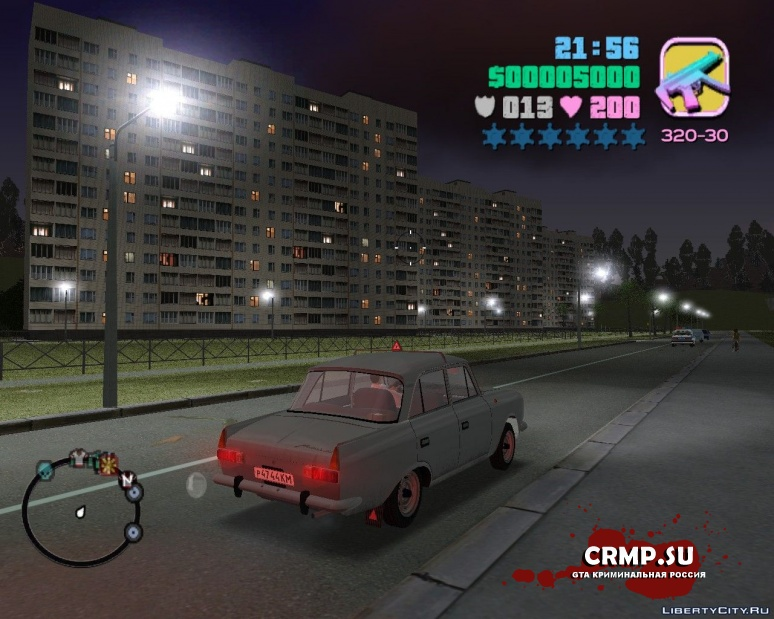 GTA Vice City Criminal Russia beta 2 v.2 + Нижегородск